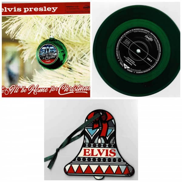 I'll Be Home For Christmas (7inch EP, 45rpm, PS, SC, Ltd.)