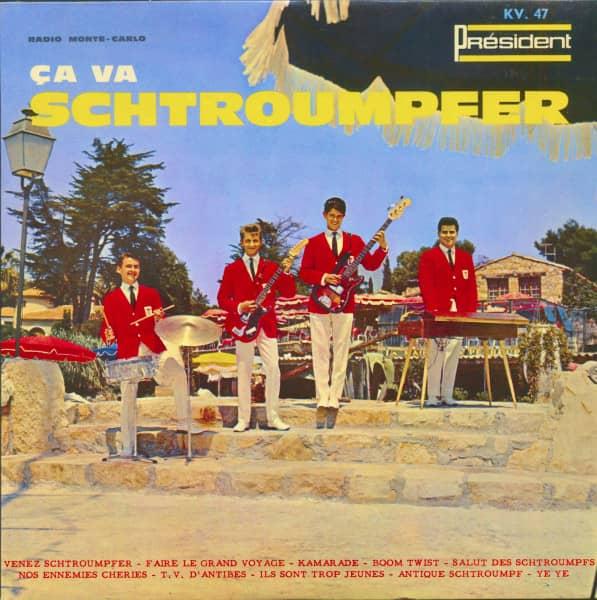Ca Va Schtroumpfer - Radio Monte Carlo (10inch LP)