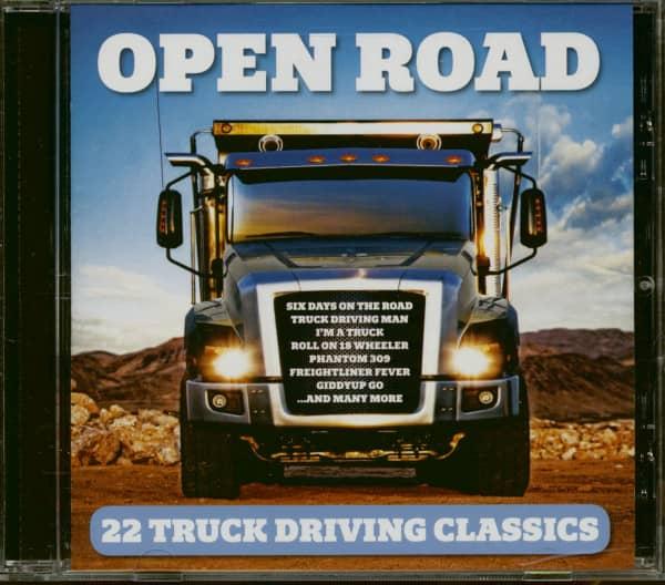 Open Road - 22 Truck Driving Classics (CD)