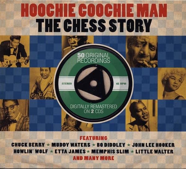 Hoochie Coochie Man - Chess Story (2-CD)