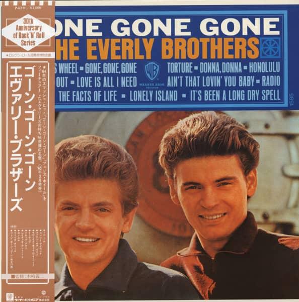 Gone Gone Gone (1965) Japan re-issue Vinyl-LP
