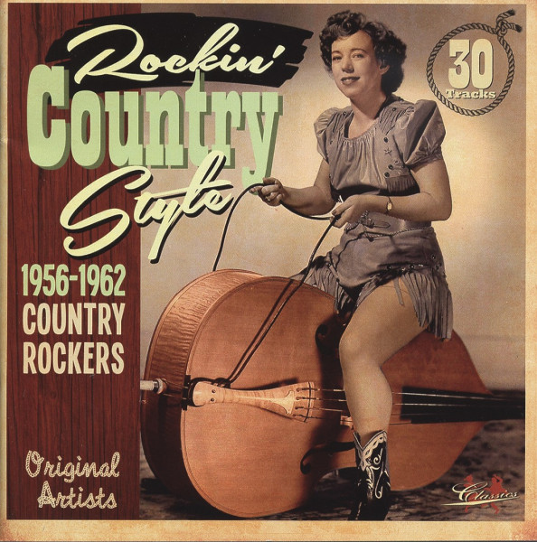 Rockin' Country Style Vol.1 (CD)