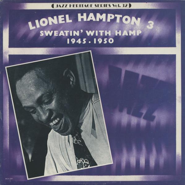 Sweatin' With Hamp - 1945 - 1950, Jazz Heritage Series, Vol.32 (LP)