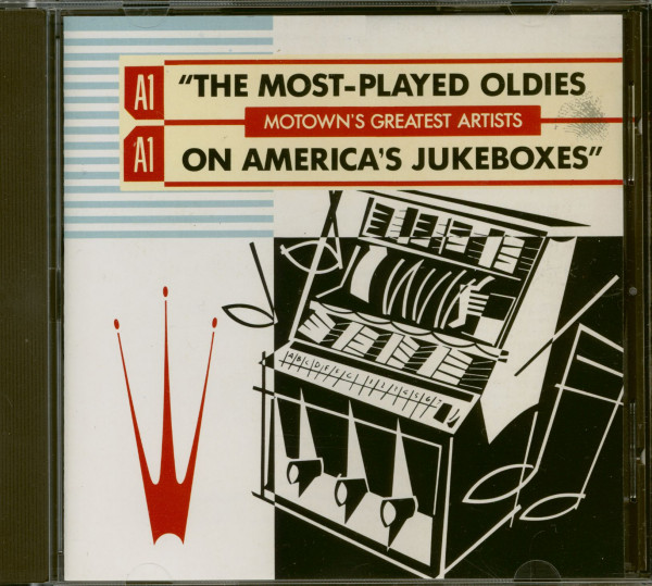 The Most-Played Oldies On America's Jukeboxes - Motwon's Greatest Artitsts (CD)