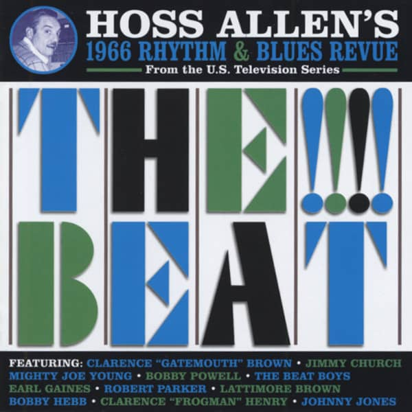 Hoss Allen's 1966 TV R&B Revue - The!!!Beat