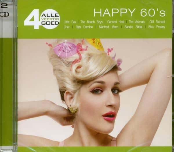 Alle 40 Goed - Happy 60's (2-CD)