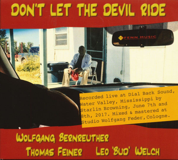 Don't Let The Devil Ride (CD)