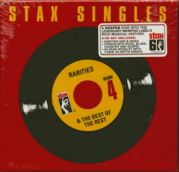 Stax Singles Vol.4 - Rarities & The Best Of The Rest (6-CD)