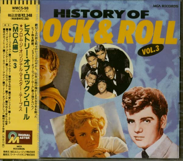 History Of Rock & Roll (MCA Masterpieces ) Vol.3 (CD Japan)