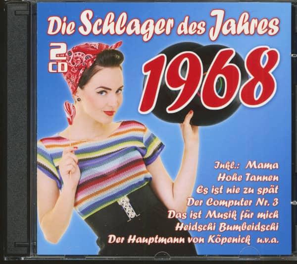 Die Schlager des Jahres 1968 (2-CD)