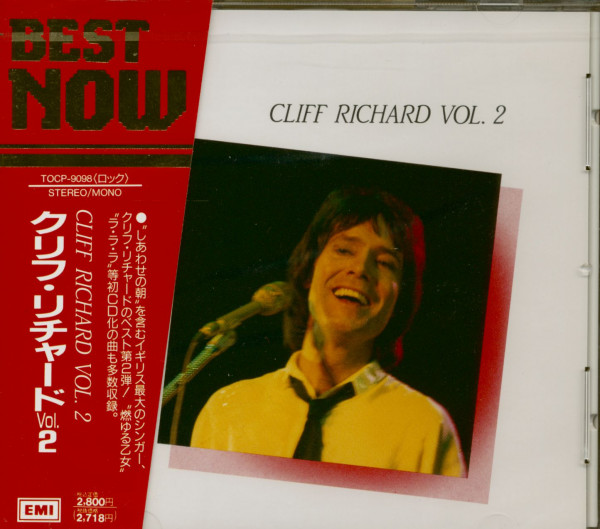 Cliff Richard Vol. 2 (CD, Japan)