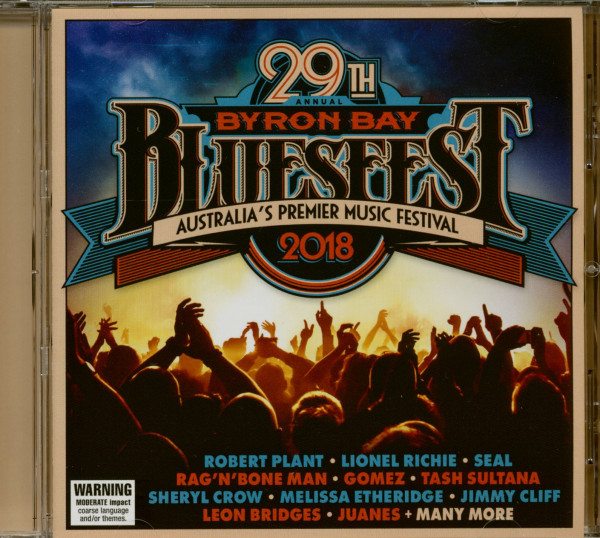 Byron Bay Bluesfest 2018 - 29th Annual (CD)