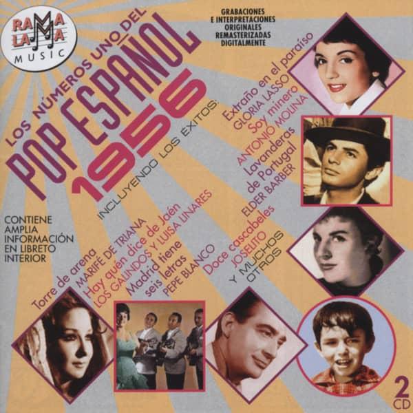 Los Números Uno Del Pop Espanol - 1956 (2-CD)