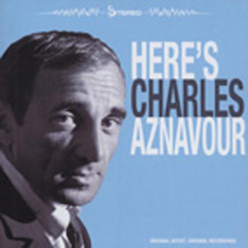 Here's Charles Aznavour