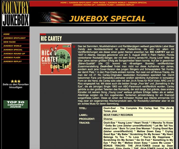 Presse-Ric-Cartey-Oooh-Eee-The-Complete-Ric-Cartey-Country-Jukebox