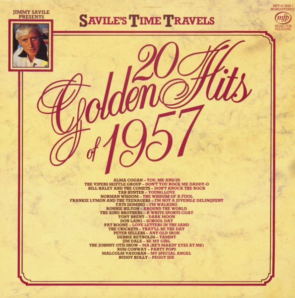 Jimmy Savile Presents - 20 Golden Hits Of 1957 (LP)