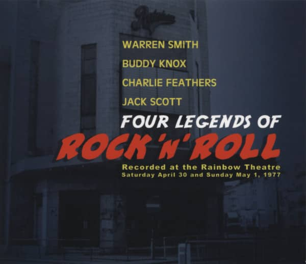 Four Legends Of Rock 'n' Roll - Live At The Rainbow 1977 (CD)