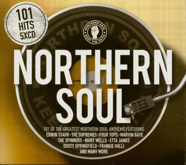 101 Hits Northern Soul (5-CD)