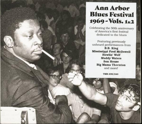 Ann Arbor Blues Festival 1969, Vol. 1&2 - 50th Anniversary (2-CD, Deluxe Edition)