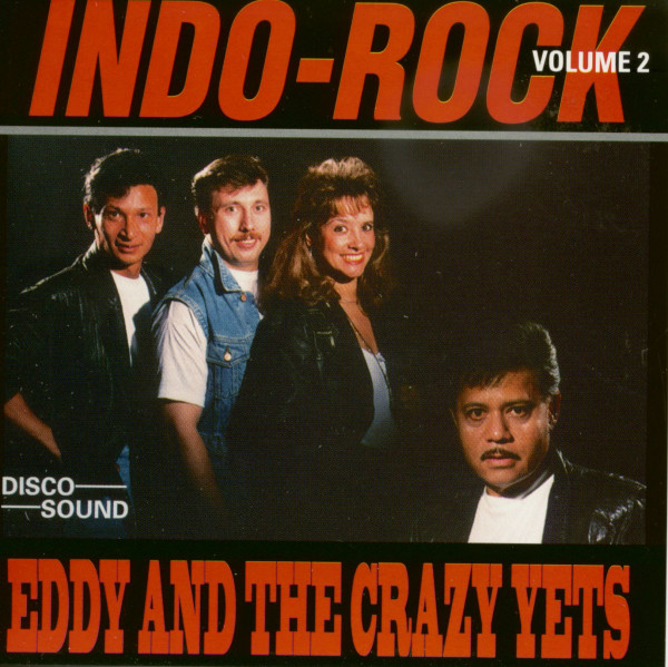 Eddy And The Crazy Jets - Indo Rock, Vol.2 (CD)