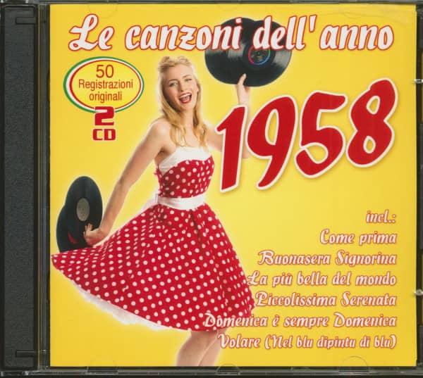 Le Canzoni Dell'Anno 1958 (2-CD)