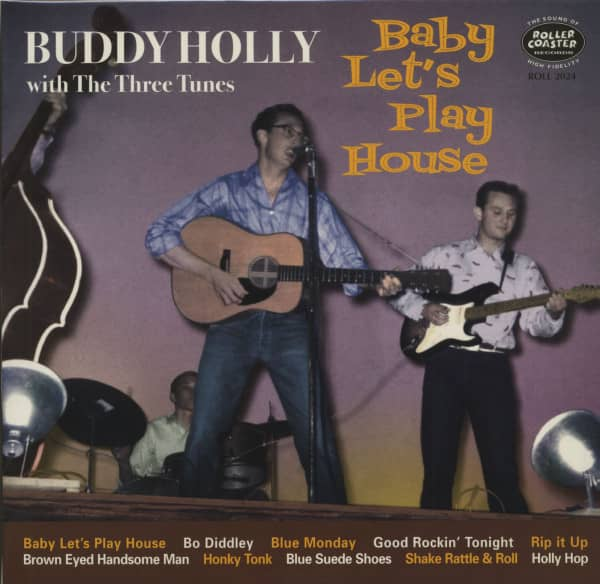 Baby Let's Play House (LP, 10inch)