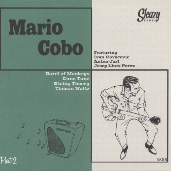 Mario Cobo - part 2 7inch, 45rpm, EP, PS