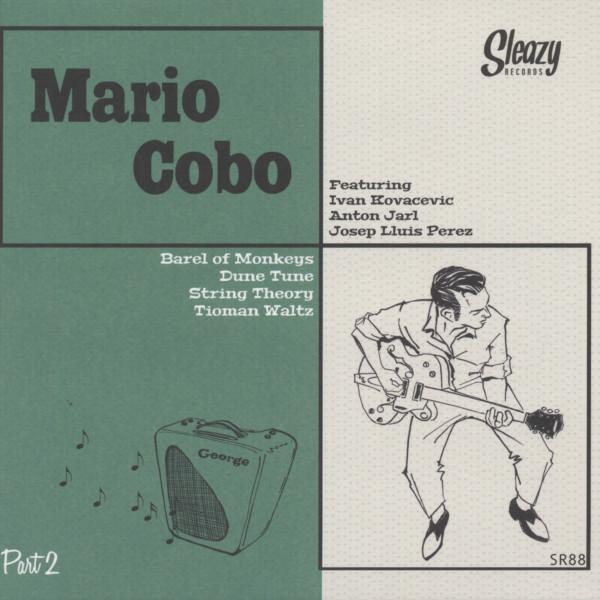 Mario Cobo - part 2 7inch, 45rpm, EP, PS