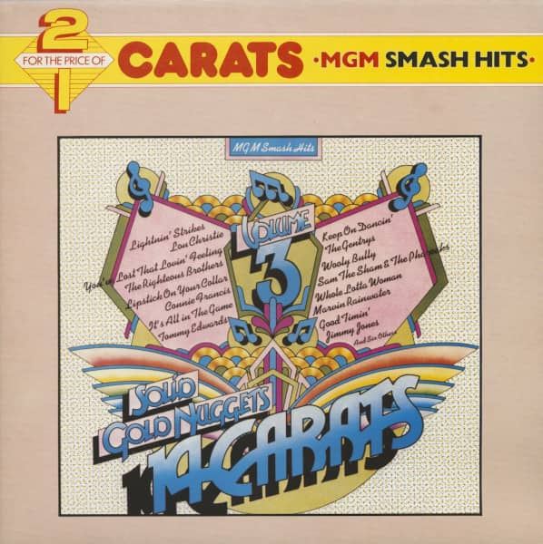 Carats - MGM Smash Hits, Vol.3 And Vol.4 (2-LP)