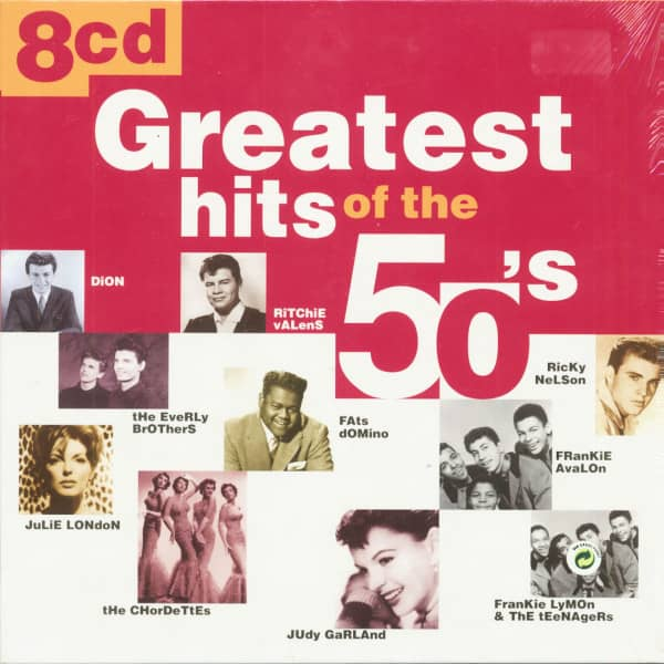 Greatest Hits Of The 50s (8-CD Box)