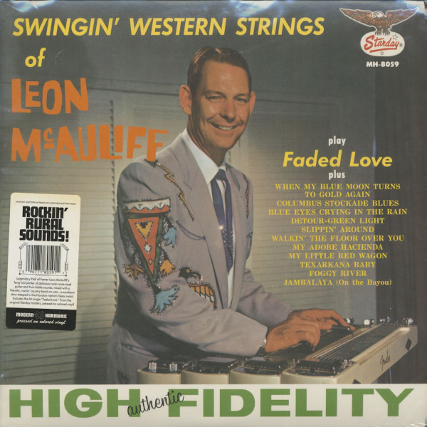 Swingin' Western Strings Of Leon McAuliff (LP)