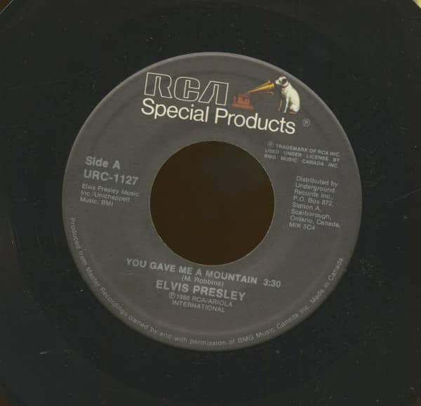 You Gave Me A Mountain - Rags To Riches (7inch, 45rpm)