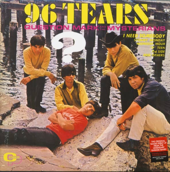 96 Tears (LP, Clear 'Tear Drop' Vinyl, Ltd.)