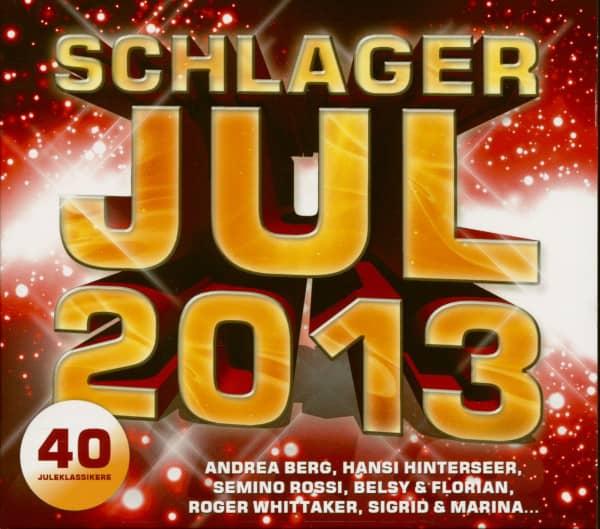 Schlager Jul 2013 - 40 Weihnachtsklassiker (2-CD)