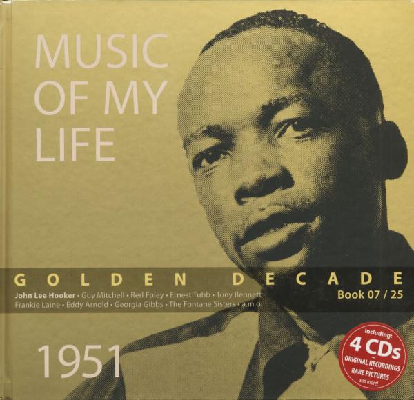 Golden Decade Vol.7 - 1951 (Book & 4-CD)
