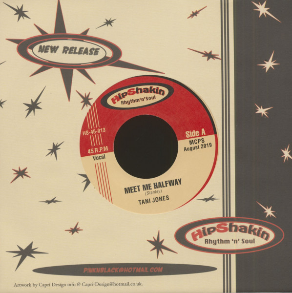 Meet Me Halfway - Don't Tell It All (7inch, 45rpm, PS, BC)