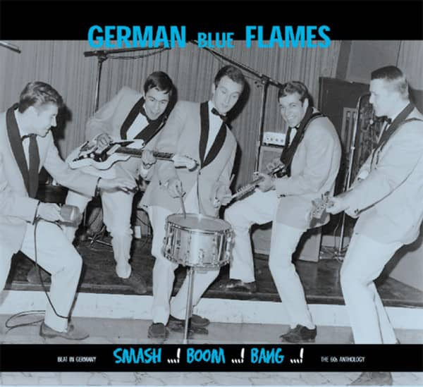 The German Blue Flames