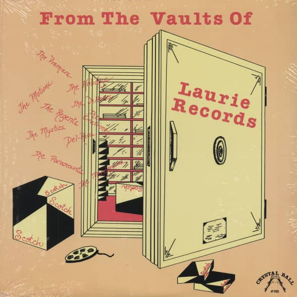 Laurie Records - From The Vaults Of... (Vinyl-LP)