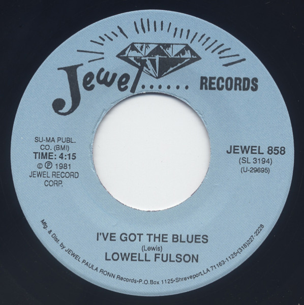 I've Got The Blues - Change Of Heart