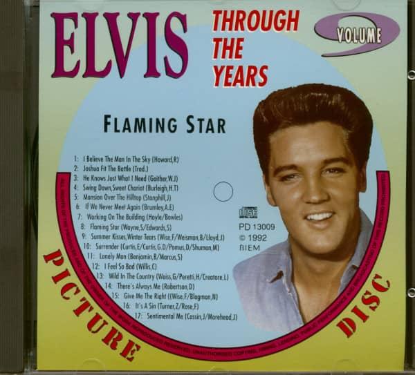 Through The Years Vol.9 - Flaming Star (CD)