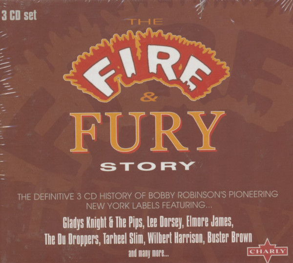The Fire & Fury Story (3-CD-Box)