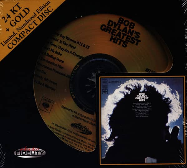 Bob Dylan's Greatest Hits (24k+Gold CD)