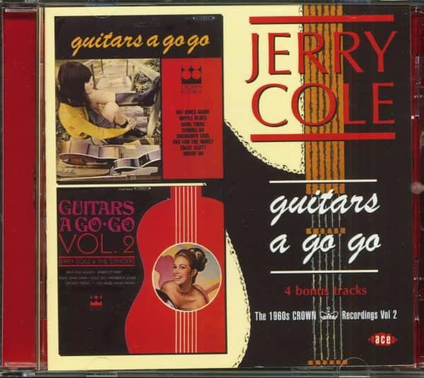Guitars A Go-Go - The 1960s Crown Recordings Vol.2 (CD)