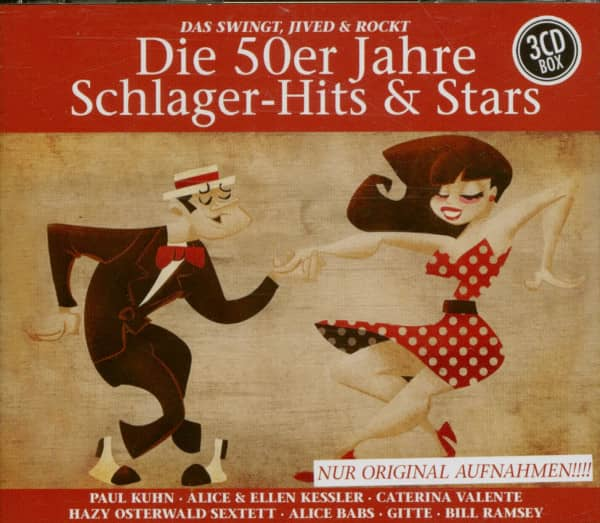 Die 50er Jahre Schlager-Hits & Stars (3-CD)