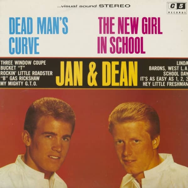 Dead Man's Curve - The New Girl In School '64 Stereo (LP)