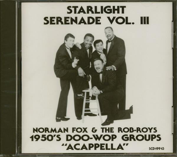 1950s Doo-Wop Groups 'Acappella' Vol.3 (CD)