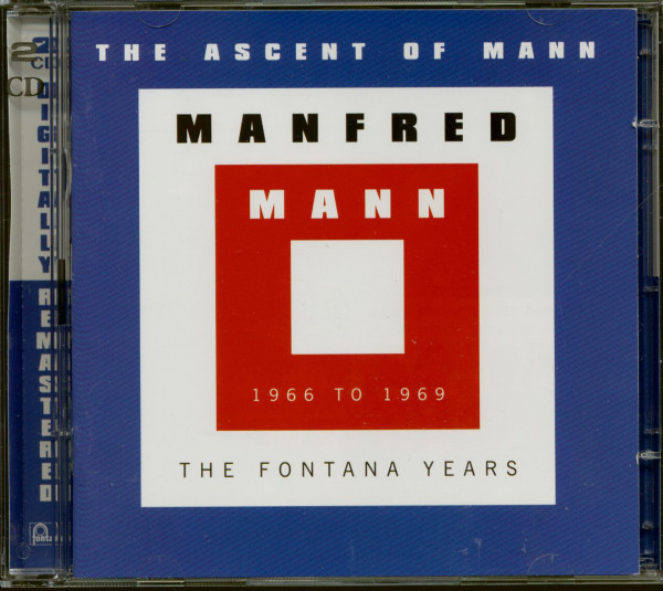 The Ascent Of Mann - The Fontana Years 1966-1969 (2-CD)