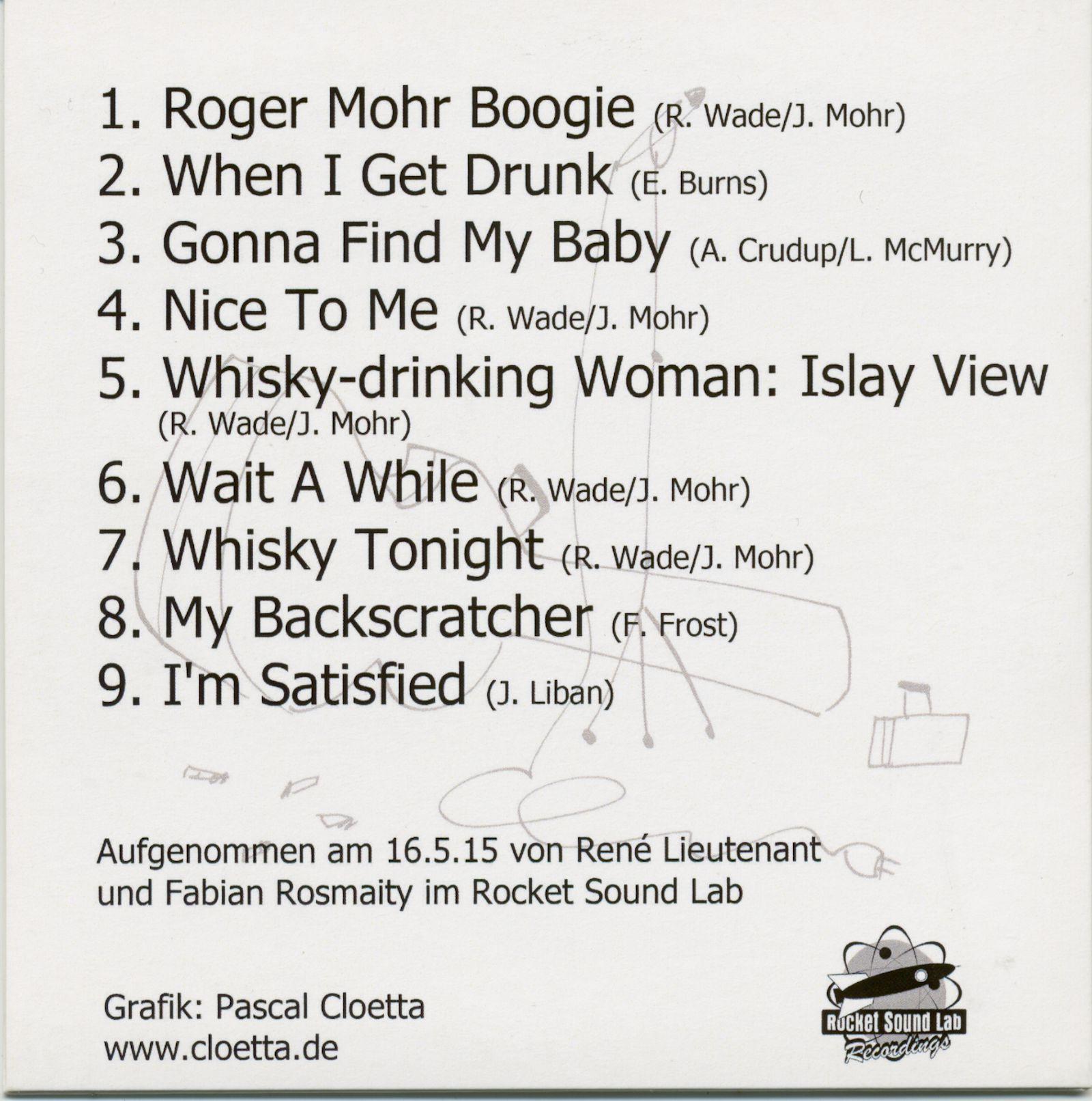 Roger Wade & Jan Mohr CD Downsized Bear Family Records