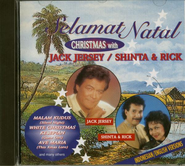 Selamat Natal - Christmas With Jack Jersey, Shinta & Rick (CD)