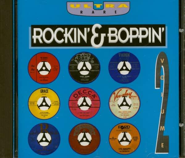Ultra Rare Rockin & Boppin Vol.2 (CD)